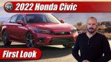First Look: 2022 Honda Civic Sedan