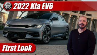 First Look: 2022 Kia EV6