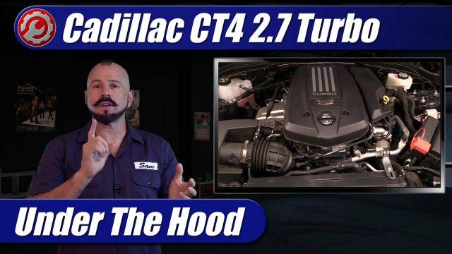 Under The Hood: 2021 Cadillac CT4 2.7 Turbo