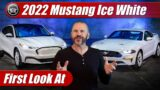 First Look: 2022 Ford Mustang Ice White