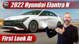 First Look: 2022 Hyundai Elantra N