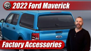 Ford Maverick Factory Accessories