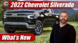 What's New: 2022 Chevrolet Silverado