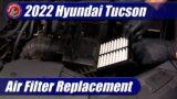 Air Filter Replacement: 2022 Hyundai Tucson 2.5