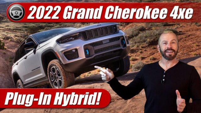 First Look: 2022 Jeep Grand Cherokee 4xe