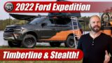 What's New: 2022 Ford Expedition