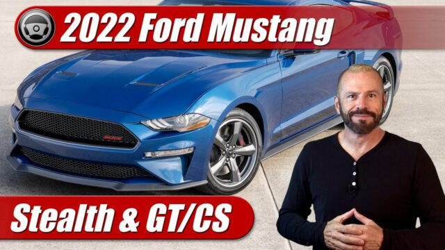 What's New: 2022 Ford Mustang Stealth & GT/CS